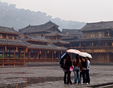 Re-edit  .. a wet morning in Xijiang