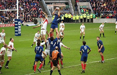 Rugby - England vs. France