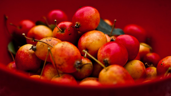 Take 2 kg of crab apples...